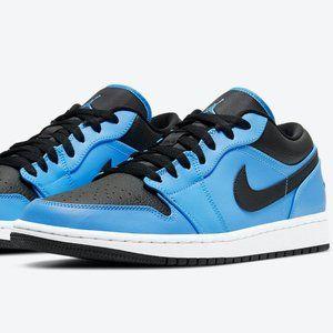 Nike Air Jordan 1 Low UNC University Blue Black